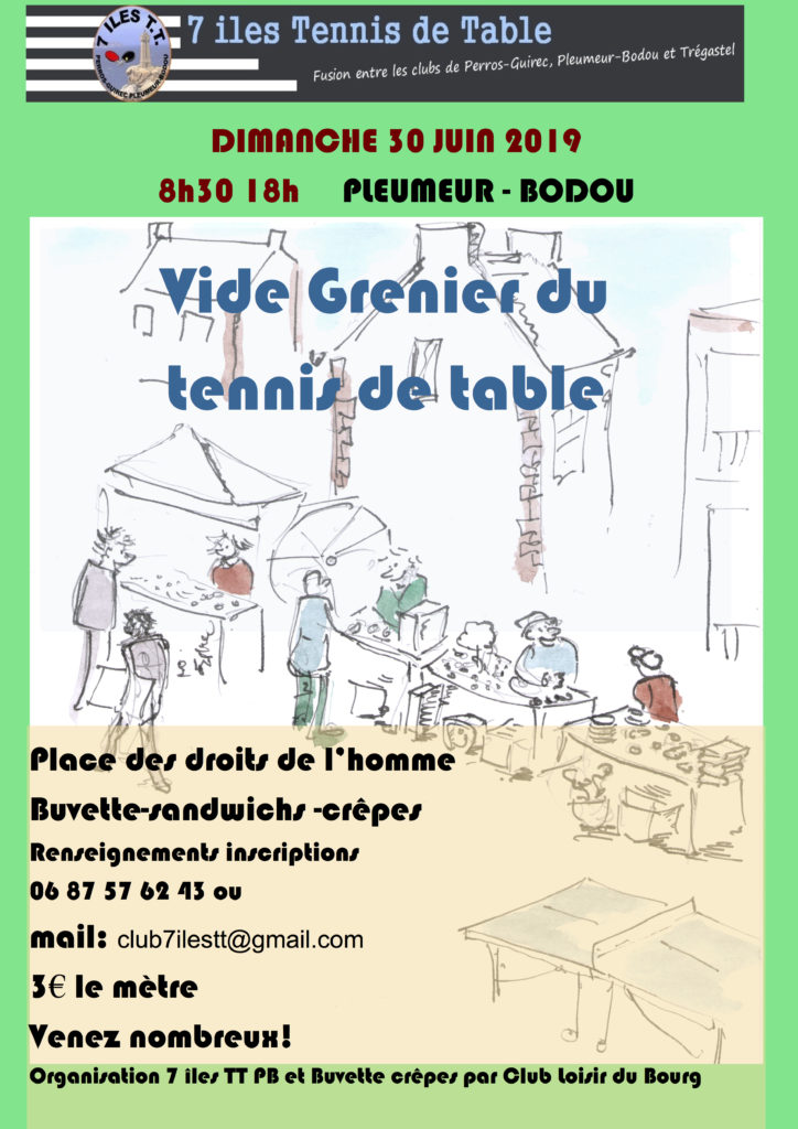 7 îles Tennis de Table